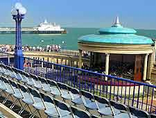 Picture of the beachfront bandstand