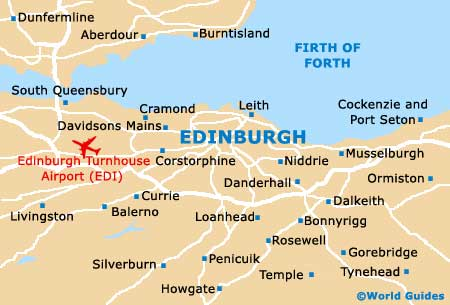 Small Edinburgh Map
