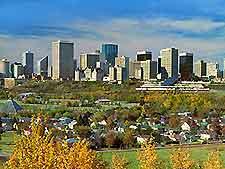 Photograph of Edmonton skyline