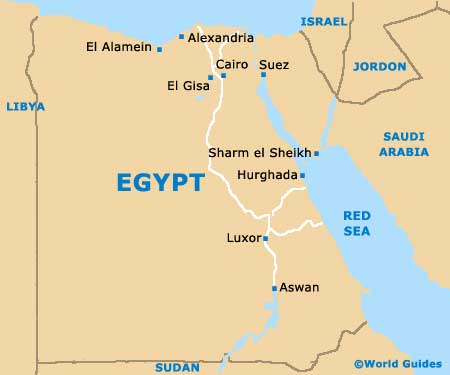 Egypt Tourism and Tourist Information: Information about Egypt Area,
