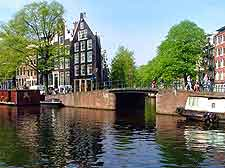 Photo showing central canal in Amsterdam
