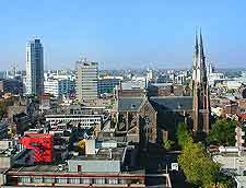 View of the Eindhoven skyline
