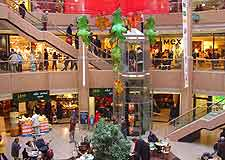 View inside central mall