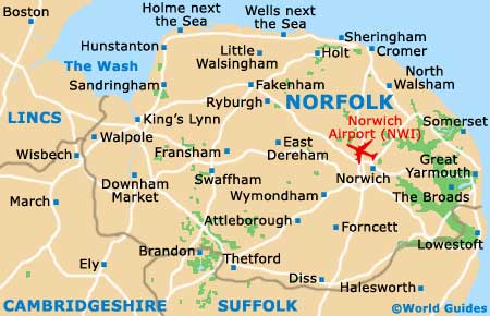 Norfolk Map