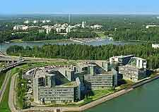 View of Nokia headquarters
