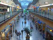Photo of the interior of a shopping centre