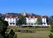 Pcture showing the famous Stanley Hotel