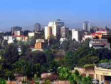 Skyline picture of Addis Ababa