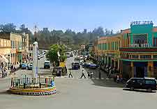 Picture of shops in Gondar city centre