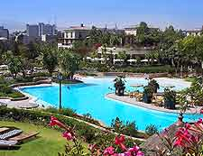 Photograph of the luxury Sheraton resort in Addis Ababa