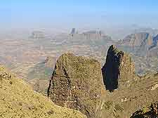 Photo taken in the Simien Mountains National Park