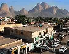 Photo of the city of Kassala, Sudan