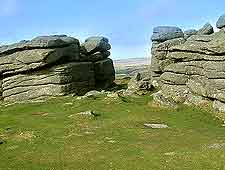 Picture of the Combestone area of Dartmoor National Park