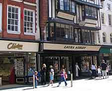 Picture of shops on the High Street
