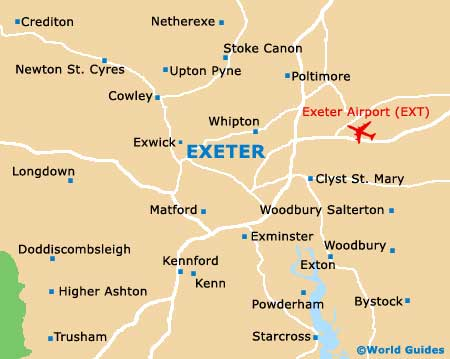 Map Of Uk Exeter.Map Of Exeter England Afp Cv