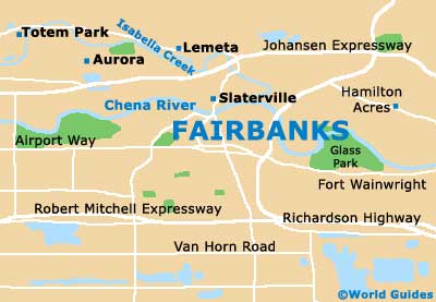 Small Fairbanks Map