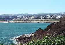 Scenic beach picture