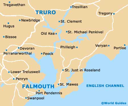 Small Falmouth Map