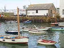 An image of Falmouth quay