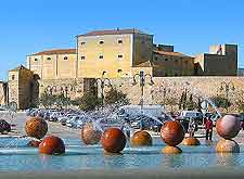 Photo of the Arab walls and fountains