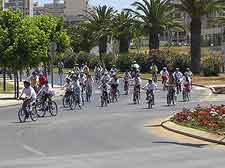 Photo of cycling even in Faro, Portugal