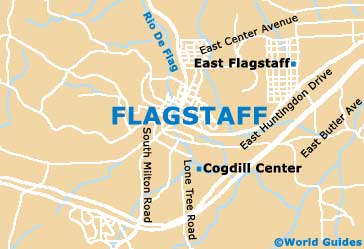 Small Flagstaff Map