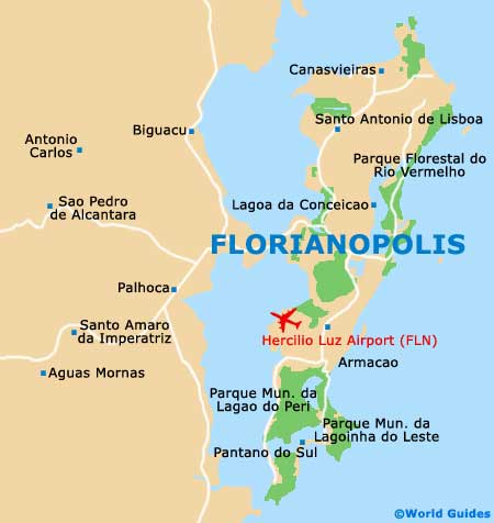 Small Florianopolis Map