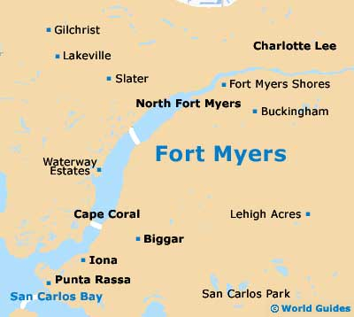 Small Fort Myers Map