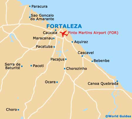 Fortaleza Maps and Orientation Fortaleza Ceara Brazil