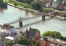 Image showing view over Frankfurt
