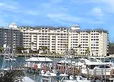 Image showing the Harbour House Towers condo complex