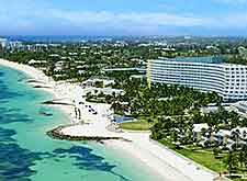 Aerial view of the Westin Grand Bahama Hotel