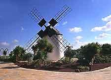 Image of the Windmill at the Centro de Artesania in the village of Antigua, Fuerteventura