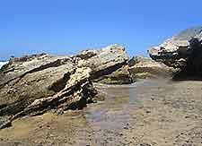 Picture of Fuerteventura rocky coastline
