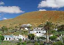 View over the Fuerteventura village of Betancuria