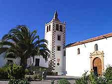 View of Fuerteventura's former capital Betancuria