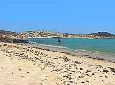 Picture showing Fuerteventura's Isla Lobos beach