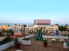 Rooftop scene of Playa de Jandia, Fuerteventura