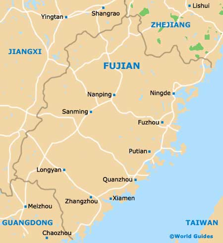 Xiamen Maps and Orientation: Xiamen, Fujian, China