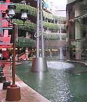 Picture of Canal City in the Nakasu district of Fukuoka