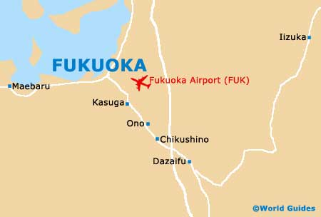 Small Fukuoka Map