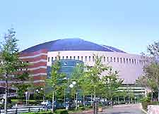 Picture of Fukuoka's Dome stadium