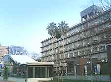 Picture of Kyushu University in the Higashiku district