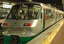 Picture of the Midori Express train