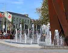 Summer picture taken at Eyre Square
