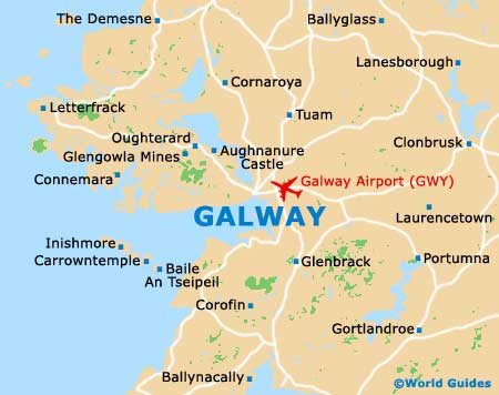Small Galway Map