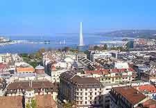 Geneva cityscape view