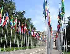 Photo showing the Palais des Nations