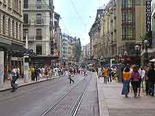 Picture of Geneva city centre shops