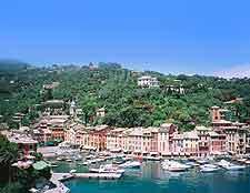 Picture of Portofino harbourfront in the sunshine